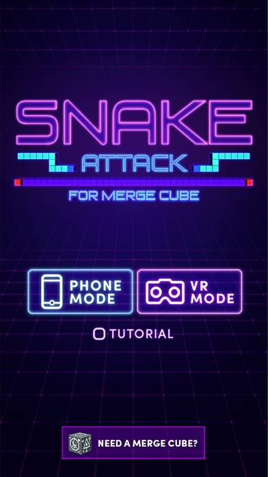 Snake Attack for Merge Cube