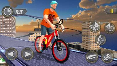 Incredible City Building Top Bicycle Ride