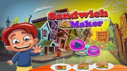 Sandwich Maker – Kitchen Food Cooking Walkthrough (iOS)