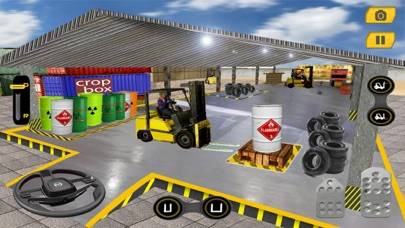 Real Forklift Driving Challenge 2017 Walkthrough (iOS)
