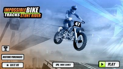 Impossible Bike Tracks Stunts Rider Walkthrough (iOS)