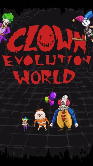 Clown Evolution World Walkthrough (iOS)