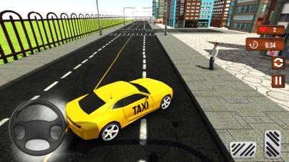 Taxi Cab Driver Simulator 3D Walkthrough (iOS)