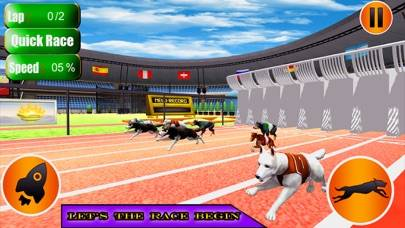 Dog Racer Simulation 2017 Walkthrough (iOS)
