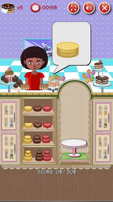 Bakery Cake Maker Shop
