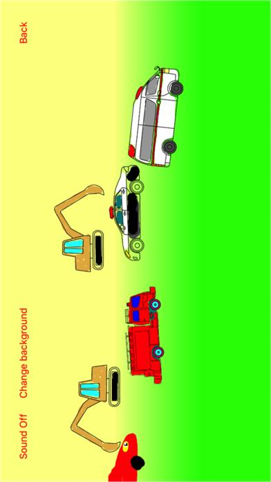 Vehicles (Cars) Moving Coloring Book