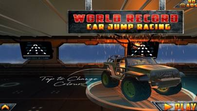 World Record Car Jump Racing