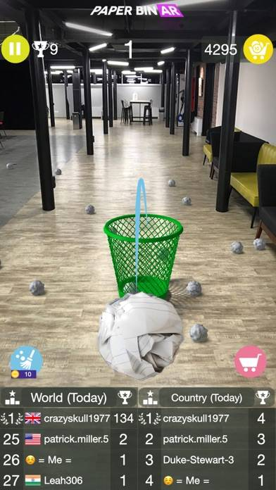Paper Bin AR Walkthrough (iOS)