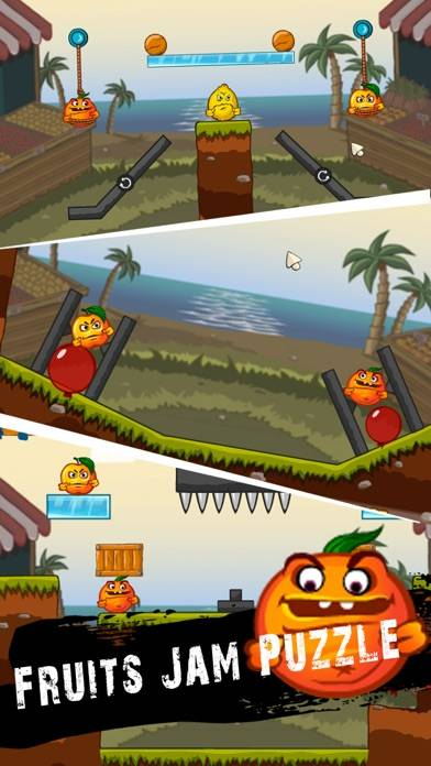 Fruits Jam Puzzle Walkthrough (iOS)