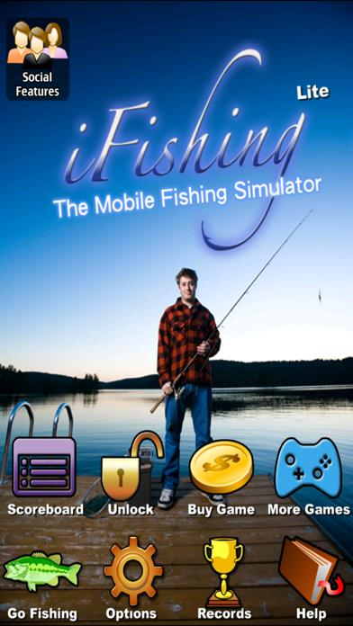 i Fishing Lite - The mobile fishing sim by Rocking Pocket Games