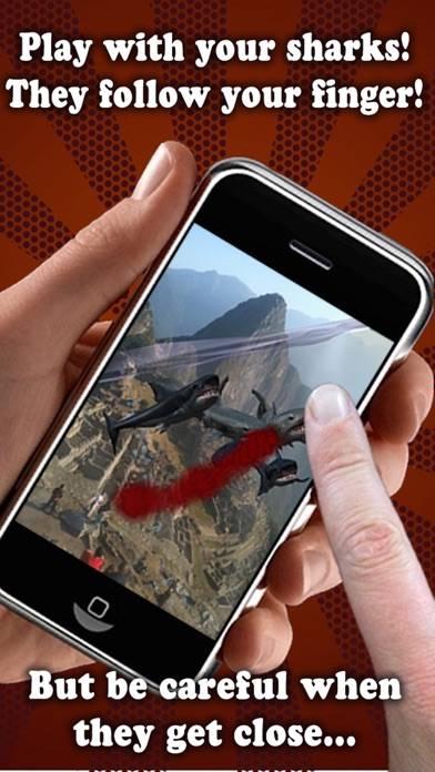Shark Fingers 3D Interactive Aquarium