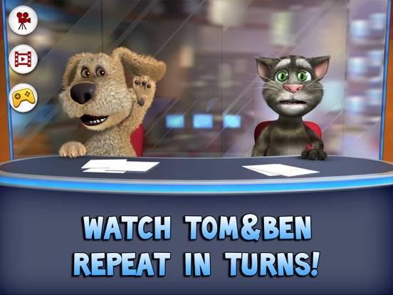 Talking Tom & Ben News for iPad