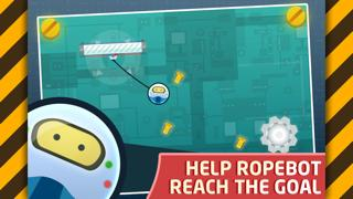 RopeBot - new adventure of tiny funny robot by Tapps - Top Apps & Games