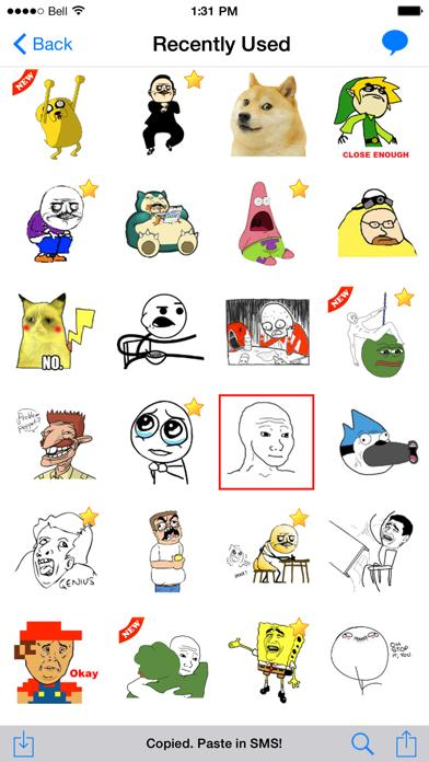 SMS Rage Faces - 1500 plus Faces