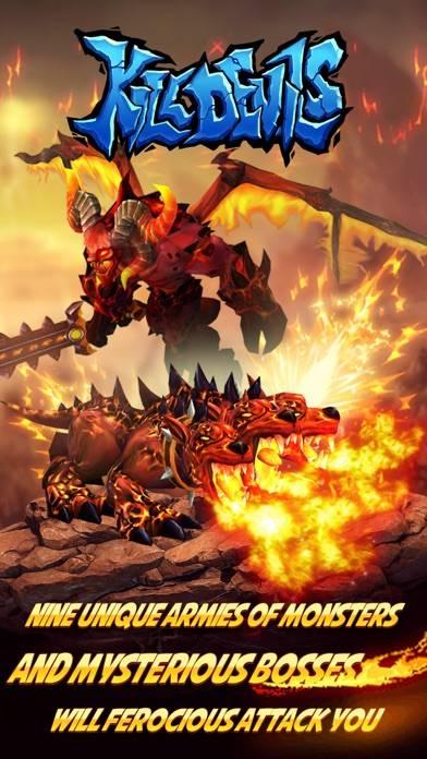 Kill Devils - kill monsters to resist invasion & unite races