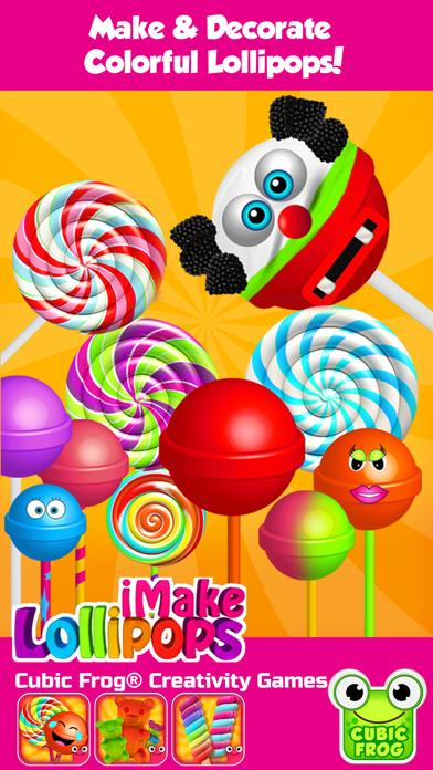 iMake Lollipops Free- Free Lollipop Maker by Cubic
