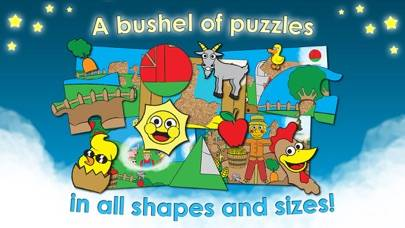 Puzzle Farm Imagination Adventure - Animal Activity Preschool Shape Puzzles for Kids and Toddlers