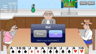 Pinochle Pro - Play Pinochle With Animated Characters