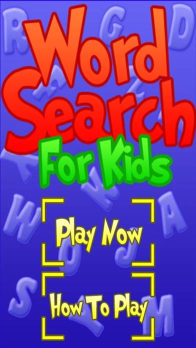 Word Search - Perfect for Kids Kinder to First Grade