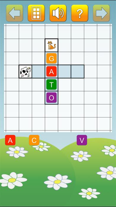 Spanish Crossword Puzzles for Kids Lite