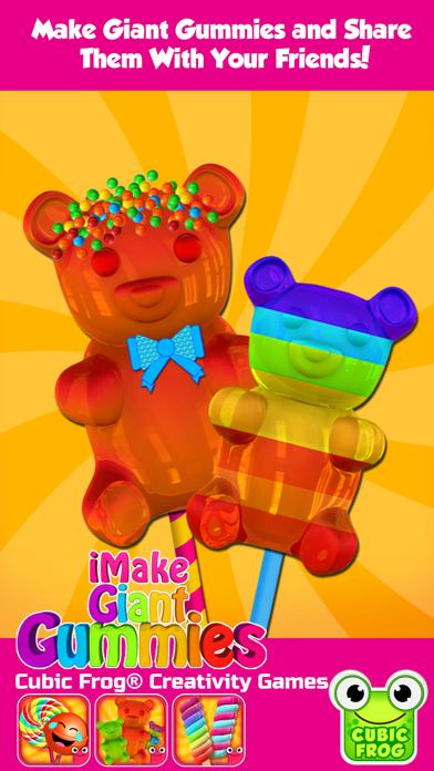 iMake Giant Gummies - Free Gummy Maker by Cubic Frog Apps