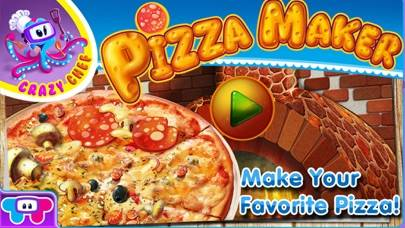 Pizza Crazy Chef - Make Eat and Deliver Pizzas with Over 100 Toppings