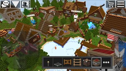 World of Cubes - block building game with