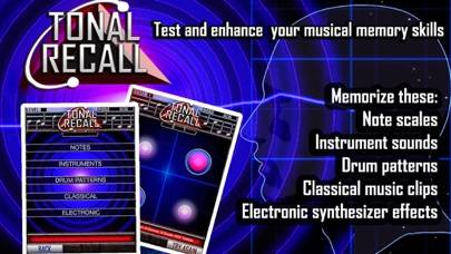 TONAL RECALL - musical memory game