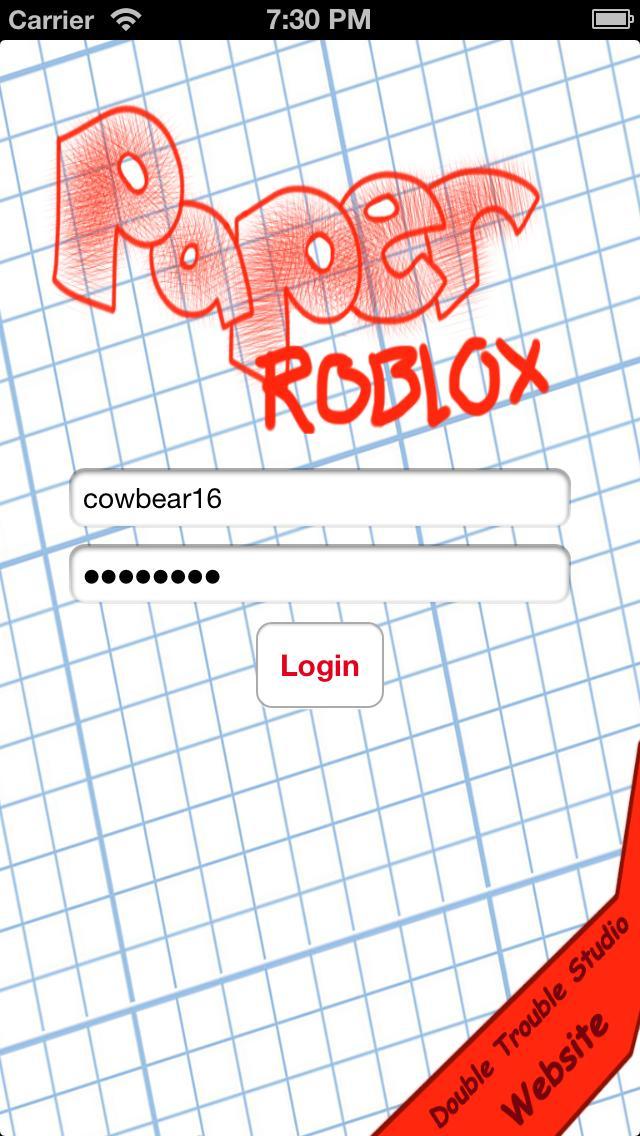 Paper ROBLOX