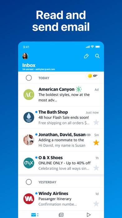 AOL: Mail News Weather & Video