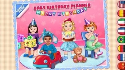 Baby Birthday Planner