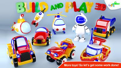Build and Play 3D - Rockets Helicopters Submarines and More