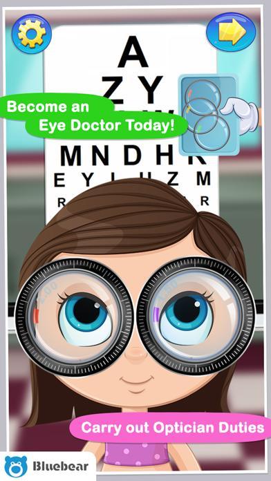 Eye Doctor - Kids games
