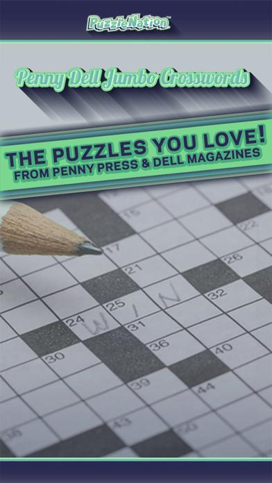 Penny Dell Jumbo Crosswords
