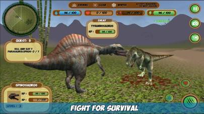 My Spinosaurus Simulator Walkthrough (iOS)