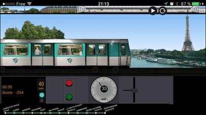 Paris Metro Simulator