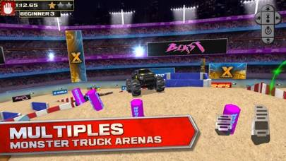 3D Monster Truck Parking Simulator Game - Real Car Driving Test Run Sim Racing Games