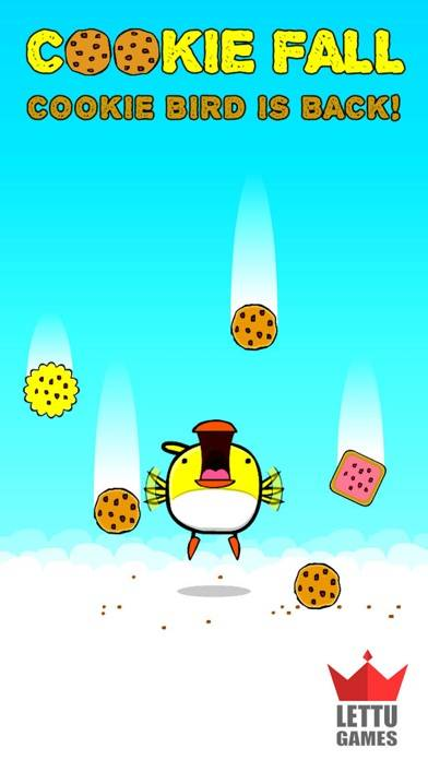 Cookie Bird Fall - Flappy City Sequel