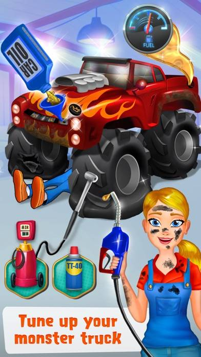 Mechanic Mike - Monster Truck Mania
