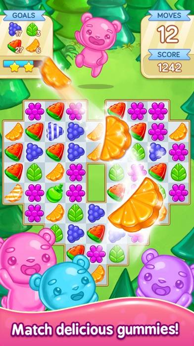 Gummy Gush - Match 3 Puzzle Game