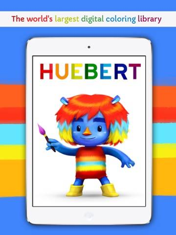 Huebert: The world's largest digital coloring library