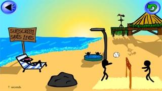 Stick Save - Stickman Beach Party