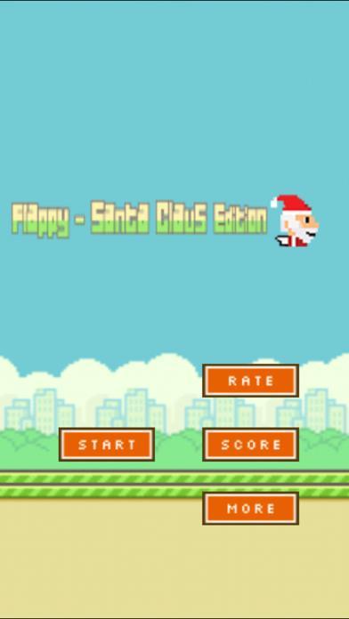 Aaaaaah! Flappy Santa