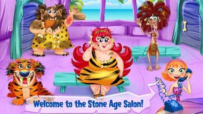 Cave Girl - Stone Age Salon