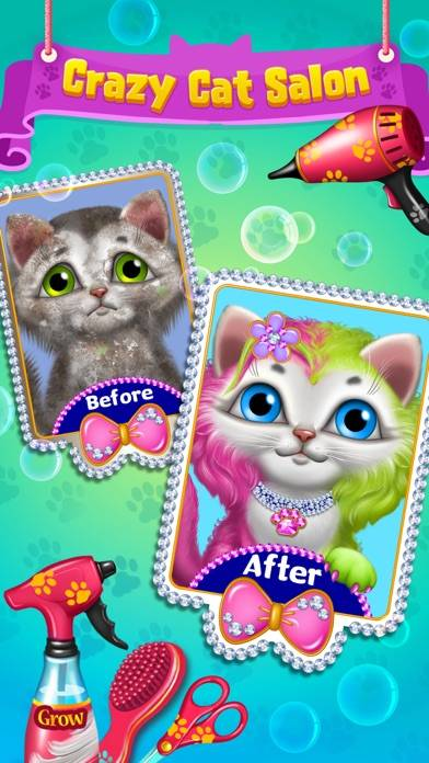 Crazy Cat Salon - Furry Makeover
