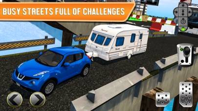Ferry Port Car Parking Simulator - Real Monster Bus Driving Test Truck Racing Run Race Games