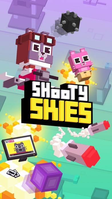 Shooty Skies - Endless Arcade Flyer