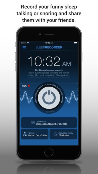 Sleep Talk & Snoring Recorder