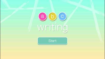 ABC Writing in Flat Design