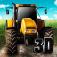 Farming Tractor Driver 3D Icon